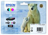 Epson Multipack 4 Farben 26 Claria Premium Ink