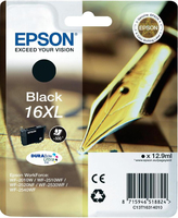 Epson Singlepack Black 16XL DURABrite Ultra Ink