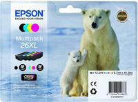 Epson Multipack 4 Farben 26XL Claria Premium Ink