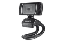 Trust Trino HD Video Webcam (Schwarz)