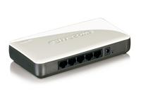 Sitecom WLX-2000 N300 Wi-Fi Access Point + 5 Port Switch (Grau, Weiß)