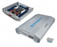 Hifonics ZXI6404 Hifi-Verstärker (Silber)