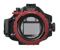Olympus PT-EP08 (Schwarz, Rot)