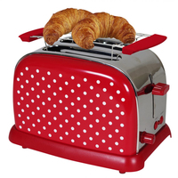 Efbe-Schott TKG TO 1008 RWD Toaster (Rot, Edelstahl, Weiß)