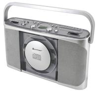 Soundmaster RCD-1400 CD-Radio (Grau, Silber)