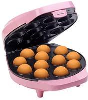 Bestron DCPM12 Cupcake- und Donut-Maker (Schwarz, Pink)