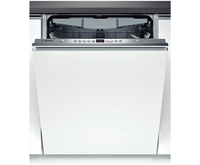Bosch SMV58N50EU Spülmaschine (Edelstahl, Weiß)