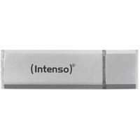 Intenso Alu Line USB2.0 64GB 64GB USB 2.0 Silber USB-Stick (Silber)