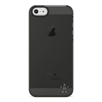 Belkin Shield Sheer Matte iPhone 5 (Schwarz, Transparent)