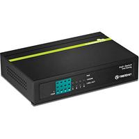 Trendnet TPE-TG44G Netzwerk Switch (Schwarz)