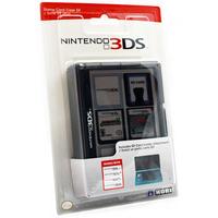 Hori 3DS-020U Speicherkarte-Aufbewahrung (Schwarz)