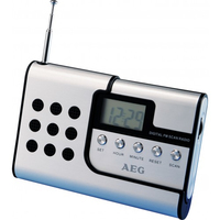 AEG DRR 4107 Radio (Silber)