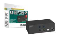 Digitus USB-KVM switch + audio (Schwarz)