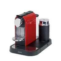 Krups XN7305 Kaffeemaschine (Schwarz, Rot)