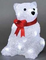 Konstsmide Acrylic sitting bear, LED (Weiß)
