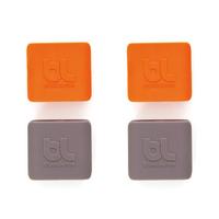 Bluelounge CableClip (Grau, Orange)