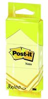3M Post-it 34x51mm (Gelb)