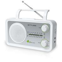 Muse M-05SW Radio (Silber, Weiß)