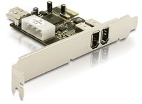DeLOCK FireWIre PCI Express Card