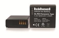 Hahnel HL-PE9 Wiederaufladbare Batterie / Akku (Schwarz)