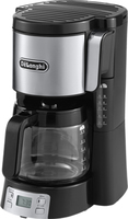 DeLonghi ICM 15250 Kaffeemaschine (Schwarz, Edelstahl)