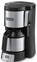 DeLonghi ICM 15750 Kaffeemaschine (Schwarz, Edelstahl)