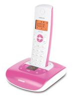 Audioline PRO 280 COLOR (Pink, Weiß)