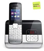 Deutsche Telekom Sinus A 806 mit TFT-Farbdisplay und Anrufbeantworter Bluetooth (Schwarz, Silber)