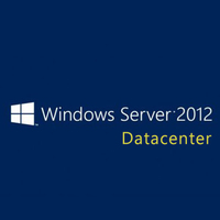 Microsoft Windows Server 2012 Datacenter, WIN, x64, 1pk, 2u, DSP, OEI, DVD, ENG