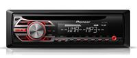 Pioneer DEH-150MP Auto-CD/DVD Tuner (Schwarz)