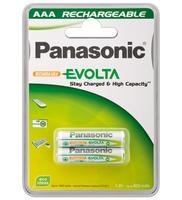 Wentronic AAA 750mAh NiMH 2-BL EVOLTA (Grün, Weiß)