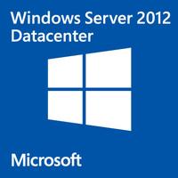 Microsoft Windows Server 2012 Datacenter, x64, 1Pk, 2CPU, AddLic, OEM, DEU