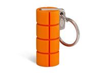 LaCie RuggedKey 16GB 16GB USB 3.0 Edelstahl USB-Stick (Orange, Edelstahl)