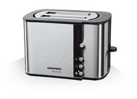Grundig TA 5260 Toaster (Schwarz, Edelstahl)
