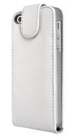 Artwizz SeeJacket Leder Flip iPhone 5 (Silber)