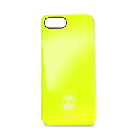 PURO Skull Cover iPhone 5 (Gelb)