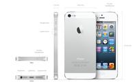 Apple iPhone 5 16GB 4G Silber, Weiß (Silber, Weiß)