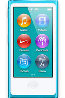 Apple iPod nano 16GB (Blau)