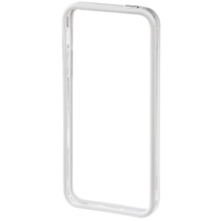 Hama Edge Protector iPhone 5 (Transparent, Weiß)