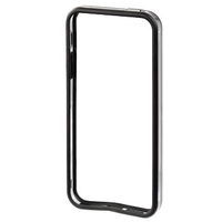 Hama Edge Protector iPhone 5 (Schwarz, Transparent)
