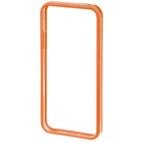 Hama Edge Protector iPhone 5 (Orange, Transparent)