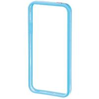 Hama Edge Protector iPhone 5 (Blau, Transparent)