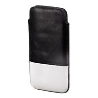 Hama Domino iPhone 5 (Schwarz, Weiß)