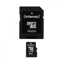 Intenso 4GB MicroSDHC (Schwarz)