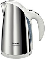 Siemens TW63101 Wasserkocher (Edelstahl, Weiß)