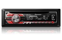 Pioneer DEH-2500UI Auto-CD/DVD Tuner (Schwarz)