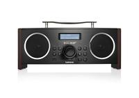 Lenco DR-02S Radio (Schwarz, Braun)