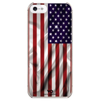 Hama Flag USA iPhone 5 (Mehrfarbig)