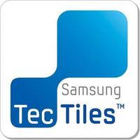 Samsung TecTiles (Blau, Weiß)