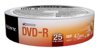Sony DVD-R Disc, 25er-Pack